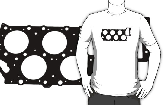 VR6 Cylinder Head (Black Print) by nfbr-lupo