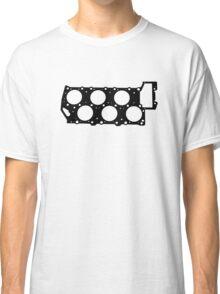 VR6 Cylinder Head (Black Print) Classic T-Shirt