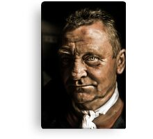 Phil the Forklift Canvas Print