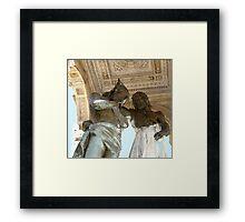St John baptizing Jesus  Framed Print