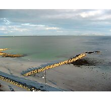 Tide Out at Salthill Photographic Print