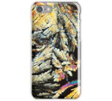 Crystals of Diclofenac under the microscope.  iPhone Case/Skin