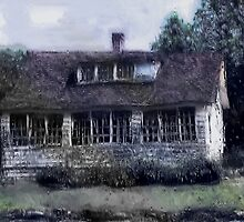 Rainy Day, Long-Ago House by RC deWinter