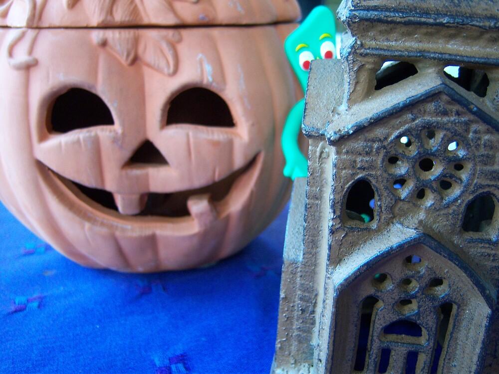 Gumby trick or treat by Satya-Seer