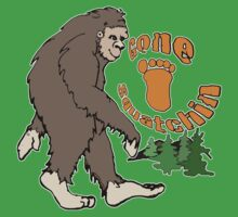 Gone Squatchin Bigfoot Baby Tee