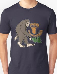Gone Squatchin Bigfoot Unisex T-Shirt