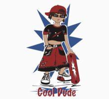 """Cool Dude""  Kids Tee"