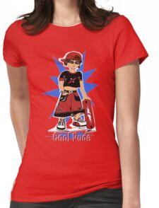 """""""Cool Dude""""  Womens Fitted T-Shirt"""