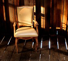 Alone in a Chair by Steve Keefer
