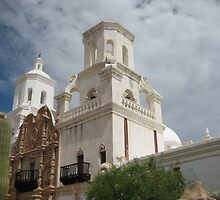 East Tower of San Xavier by Michael Cohen