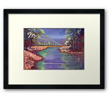 Upper Ross River – Townsville Framed Print