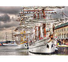 Tall Ships Boston 2009 Photographic Print