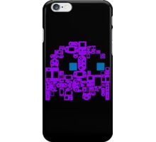 Pac Man Ghost Controllers (blue eyes) iPhone Case/Skin