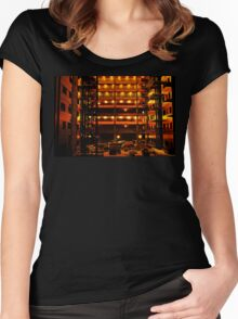 Construction Site Women's Fitted Scoop T-Shirt