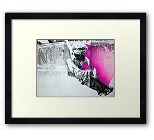 #887 Framed Print