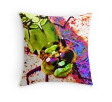 Mosquito Hawk Respit Throw Pillow