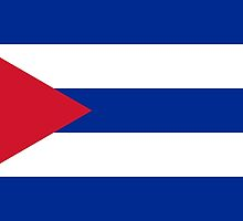 National flag of Cuba - Authentic HD version by Bruiserstang