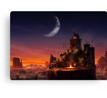 Cosmo Canyon Canvas Print