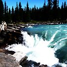 Athabasca Falls by punklins