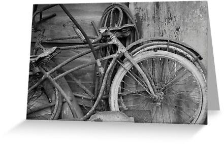 Vintage Bikes by Suz Garten
