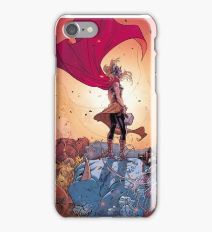 Lady Thor iPhone Case/Skin