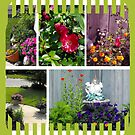 Garden Collage by Ruth Palmer