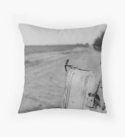 Rural Route Throw Pillow