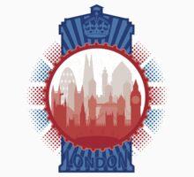 London and the Tardis Kids Tee