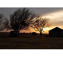 Kansas Sunset Photographic Print
