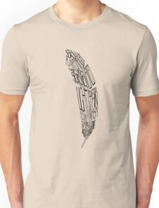 The Quill is mightier then the sword Unisex T-Shirt