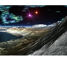 Evening on Planet H Photographic Print