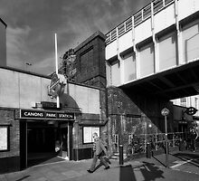 Canons Prk Tube Station by AntSmith