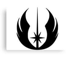 Jedi Symbol Canvas Print