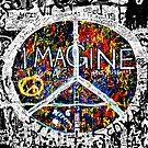 John Lennon Wall by lisacred