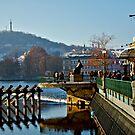 Prague Pier by lisacred