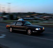 car in motion by Gavistaloch