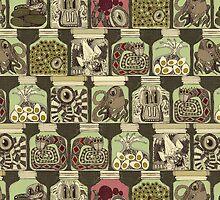 weird pickles vintage by Sharon Turner