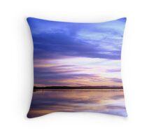 Purple Sky Sunset Throw Pillow