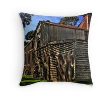 An Old Barn Reborn Throw Pillow