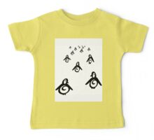 Penguins Baby Tee