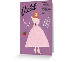 Bearded Prom Queen Greeting Card