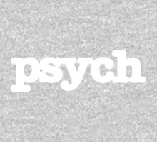 Psych Logo One Piece - Long Sleeve