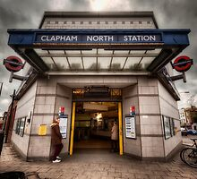 Clapham North Tube Station by AntSmith