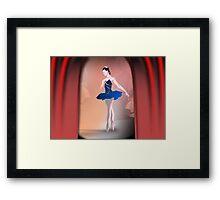 Nutcracker Ballerina Framed Print