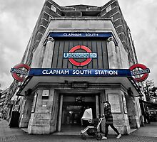 Clapham South Tube Station by AntSmith