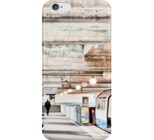 Cockfosters Tube Station iPhone Case/Skin