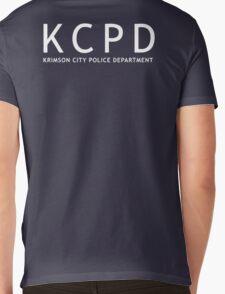 Krimson City Police Department Mens V-Neck T-Shirt