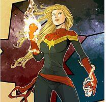 Captain Marvel by PepperMonster