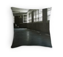 Fairfield Hills State Hospital: Illusions of Freedom Throw Pillow