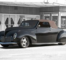 1938 Lincoln Zephyr Convertible Coupe by DaveKoontz